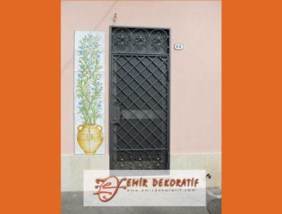 ferforje bina giriş kapıları