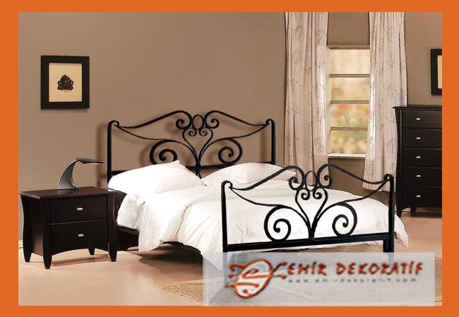 Ferforje tasarım yatak modellerimiz
