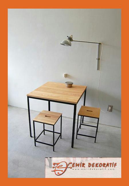 Ferforje masa sandalye modelleri-2