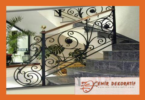 Ferforje merdiven korkuluk modelleri-2