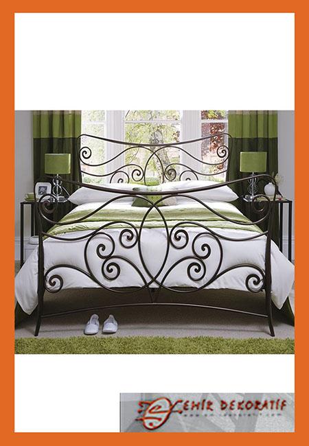Ferforje Modern Yatak Başlıkları