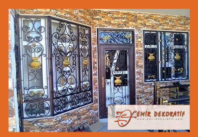 Ferforje kapı modelleri-4