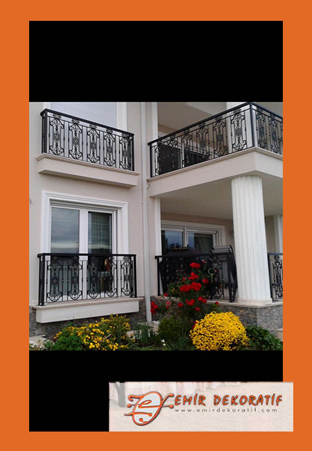 Ferforje balkon korkulukları6