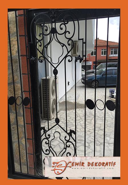 Ferforje kapı modelleri-6