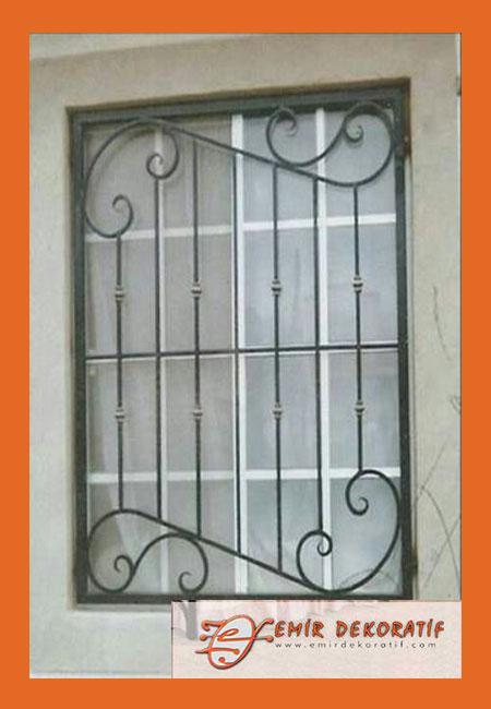 Ferforje Pencere Korkuluk-7