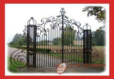 Motifli Bahçe Kapısı