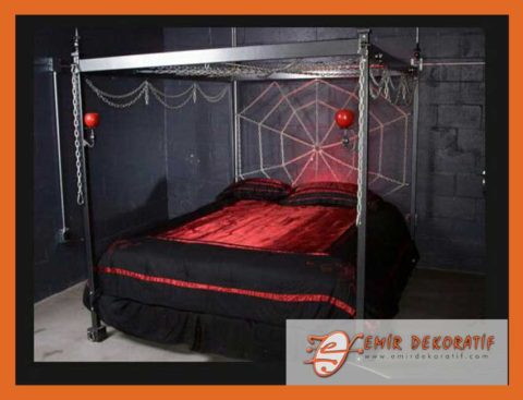 Ferforje Yatak odası
