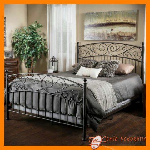 ferforje yatak modellleri